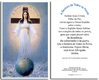 Prayer card, 2 pages - Portuguese (Brazil)