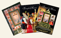 Chosen editions of the magazine 'Triumph of the Heart' on the topic of the Lady of All Nations