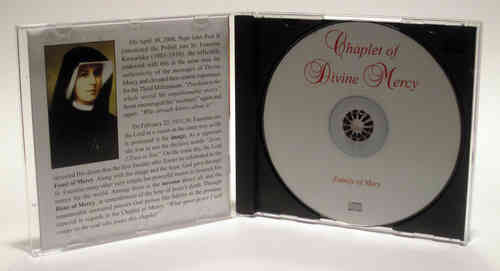 Chaplet of Divine Mercy - Englisch - CD and insert