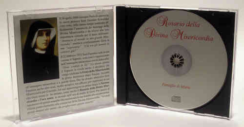 Chaplet of Divine Mercy - Spanish - CD and insert