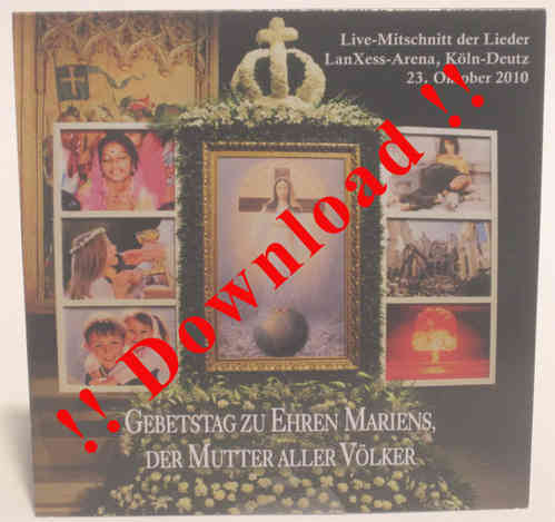 Audio CD of the Day of Prayer in Germany 2010 - Download (93 MB)