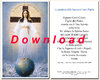 Prayer card, double-sided - Italian, download for personal printing