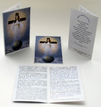 Prayer card, 4 pages, - Slovak